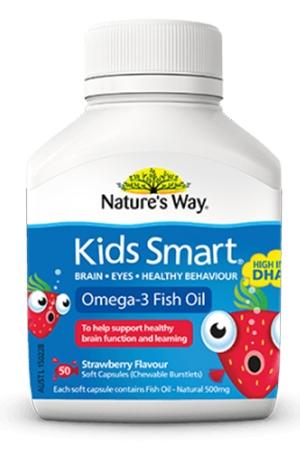 Kids Smart Omega 3 Fish Oil