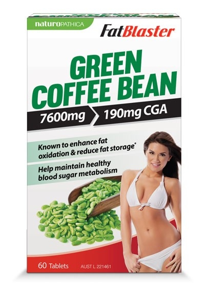 Fatblaster Green Coffee Bean 60s