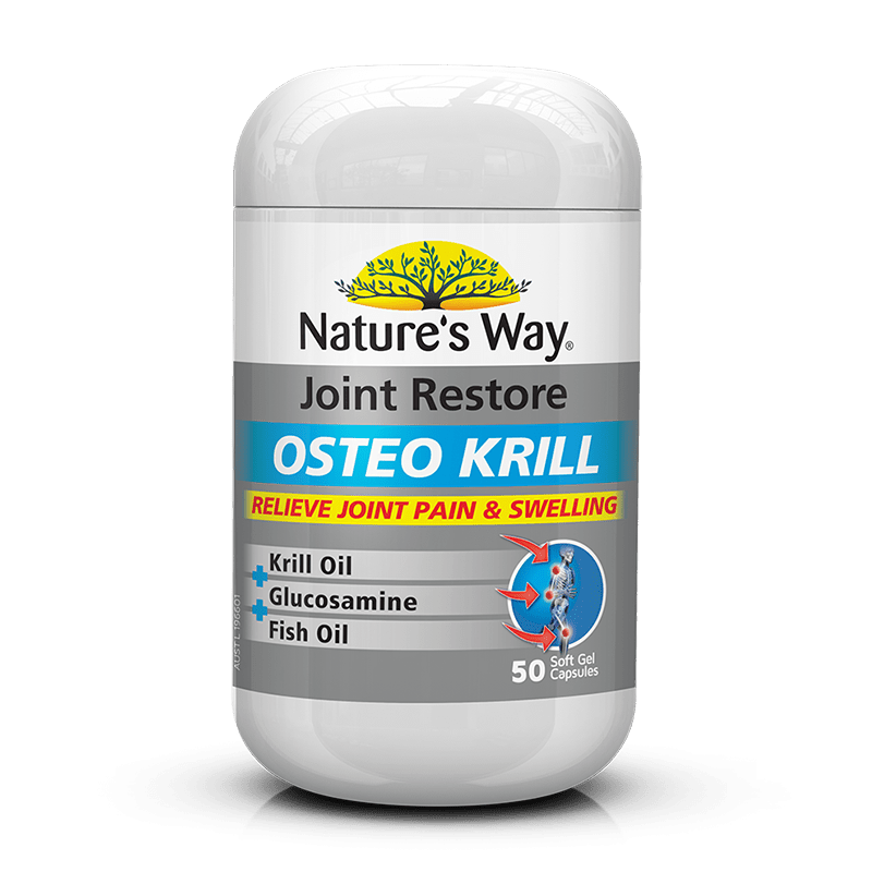 NATURES WAY JOINT RESTORE OSTEO KRILL