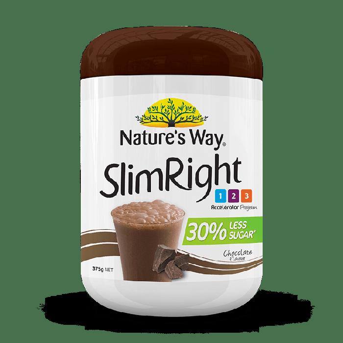 NATURE'S WAY SLIMRIGHT SHAKE CHOCOLATE