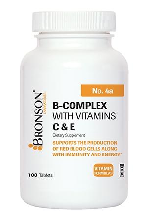 B-Complex with Vitamins C & E