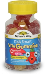 Kids Smart Vita Gummies Omega 3 Fish Oil
