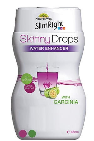 Nature's Way Slimright Skinnydrops with Garcinia