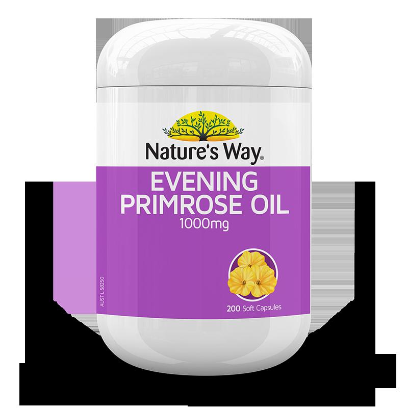 NATURE'S WAY EVENING PRIMROSE OIL 1000MG