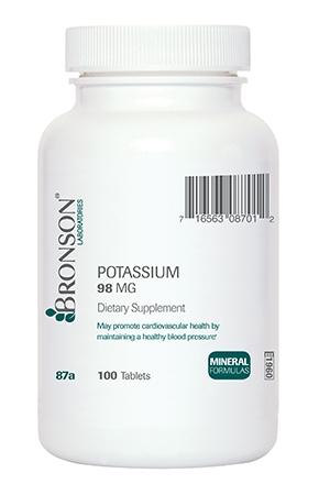 Potassium 98 mg