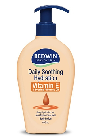 Redwin Daily Soothing Hydration Body Lotion Vitamin E with Evening Primrose Oil 400ml