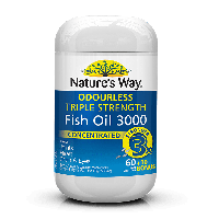 NATURE'S WAY TRIPLE STRENGTH FISH OIL