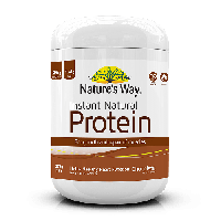 NATURE'S WAY INSTANT NATURAL PROTEIN CHOCOLATE