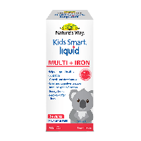 NATURE'S WAY KIDS SMART MULTI + IRON LIQUID
