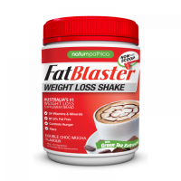 FATBLASTER WEIGHT LOSS SHAKE DOUBLE CHOC MOCHA 30% LESS SUGAR