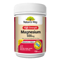 Nature's Way High Strength Magnesium 600mg