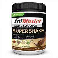 FATBLASTER SUPER SHAKE WEIGHT LOSS SHAKE RICH MILK CHOCOLATE