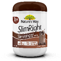 NATURE'S WAY SLIMRIGHT SHAKE CHOCOLATE