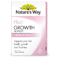 NATURE'S WAY HAIR GROWTH SUPPORT + BIOTIN & SILICON
