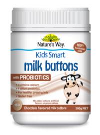 Kids Smart Milk Buttons Choclate Favour