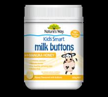 Kids Smart Milk Buttons Manuka Honey